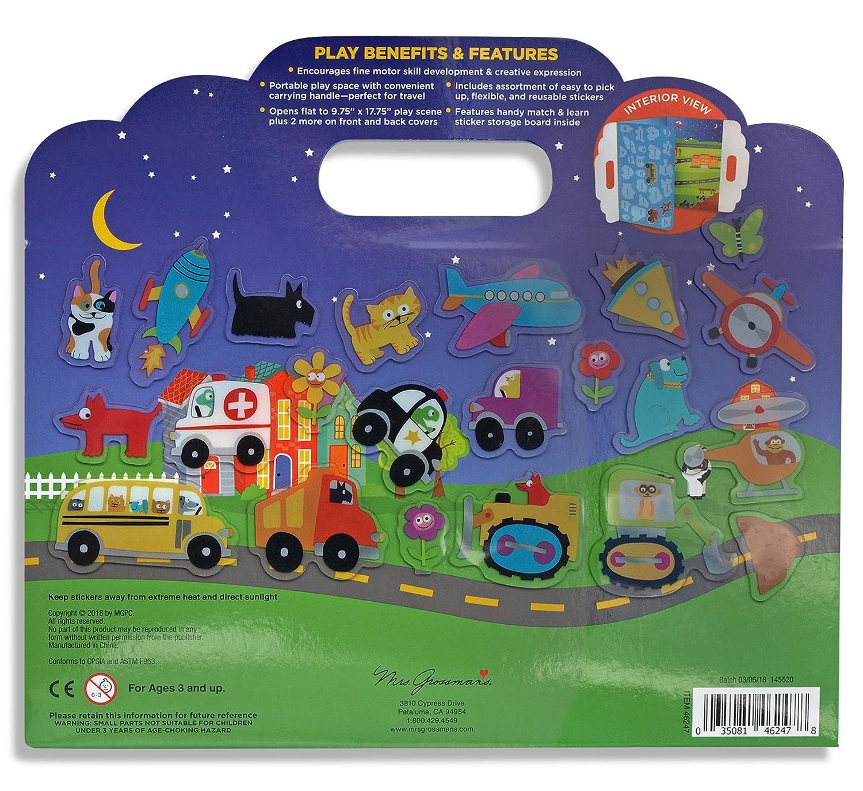 Mrs Grossmans Outer Space Reusable Sticker Activity Set Multicolor