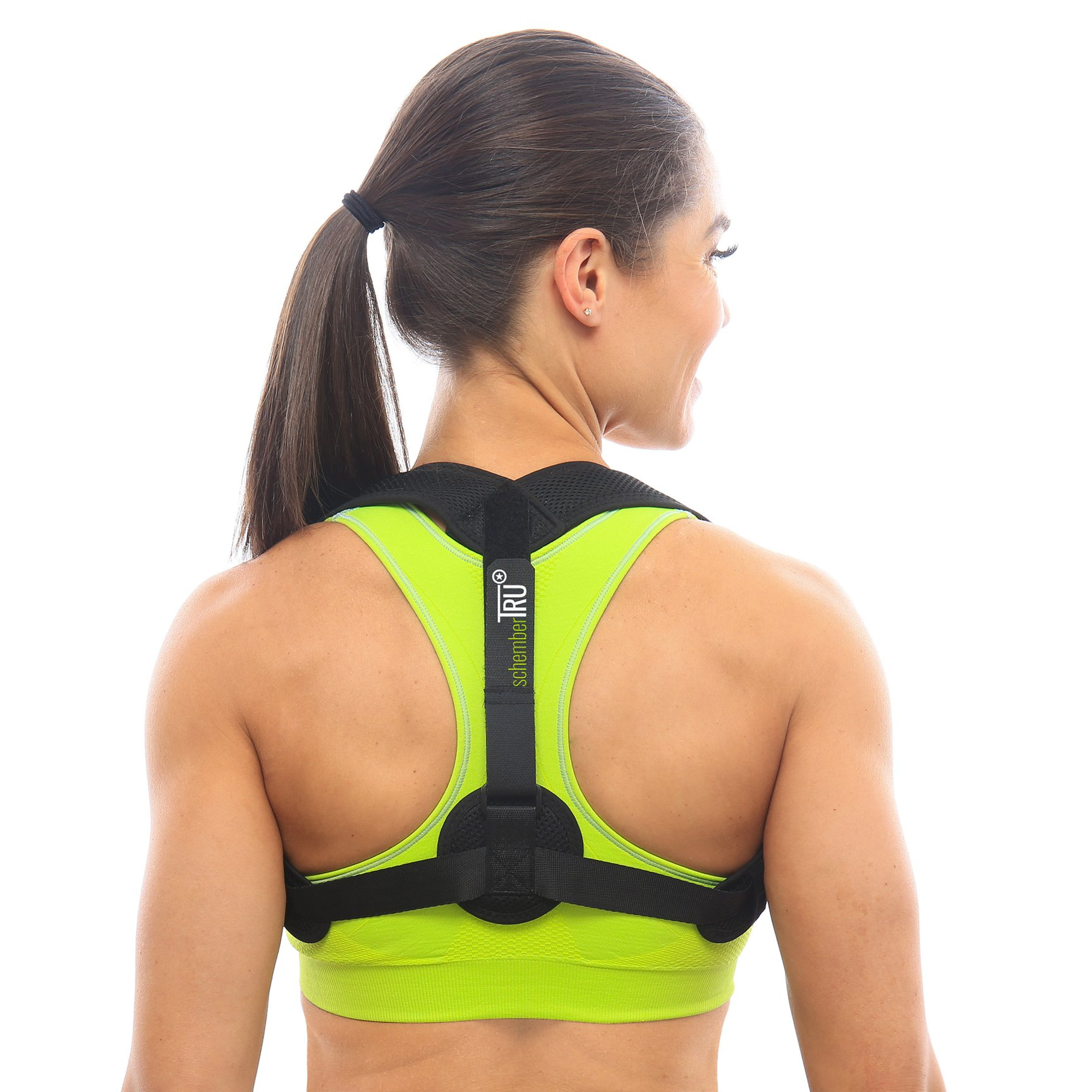 Posture Corrector for Women & Men - Comfortable, Simple & Adjustable Back Support for Pain Relief and Posture Restoration - Use at Your Desk or Gym