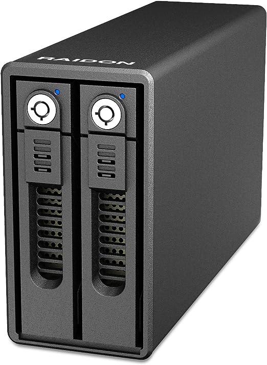 RAIDON GR3660-B3 2.5インチ/3.5インチHDD/SSD2台搭載用RAIDケース