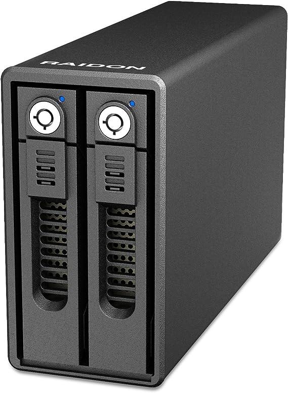Raidon GR3660-B3 Caja de disco duro (HDD) 3.5