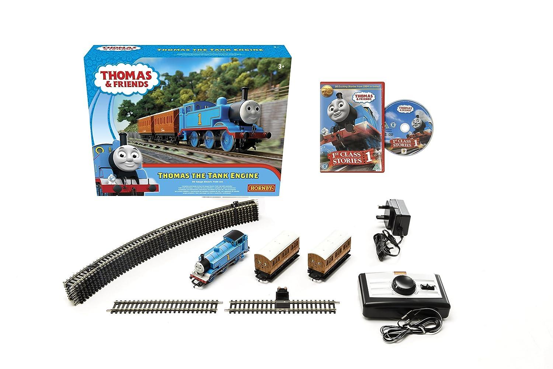 Hornby Thomas & Friends The Tank Engine Train Set (Blau)