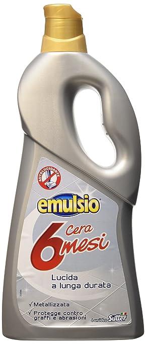 1 opinioni per Emulsio 0285313 Cera 6 Mesi, Metalizzata, 750 ml
