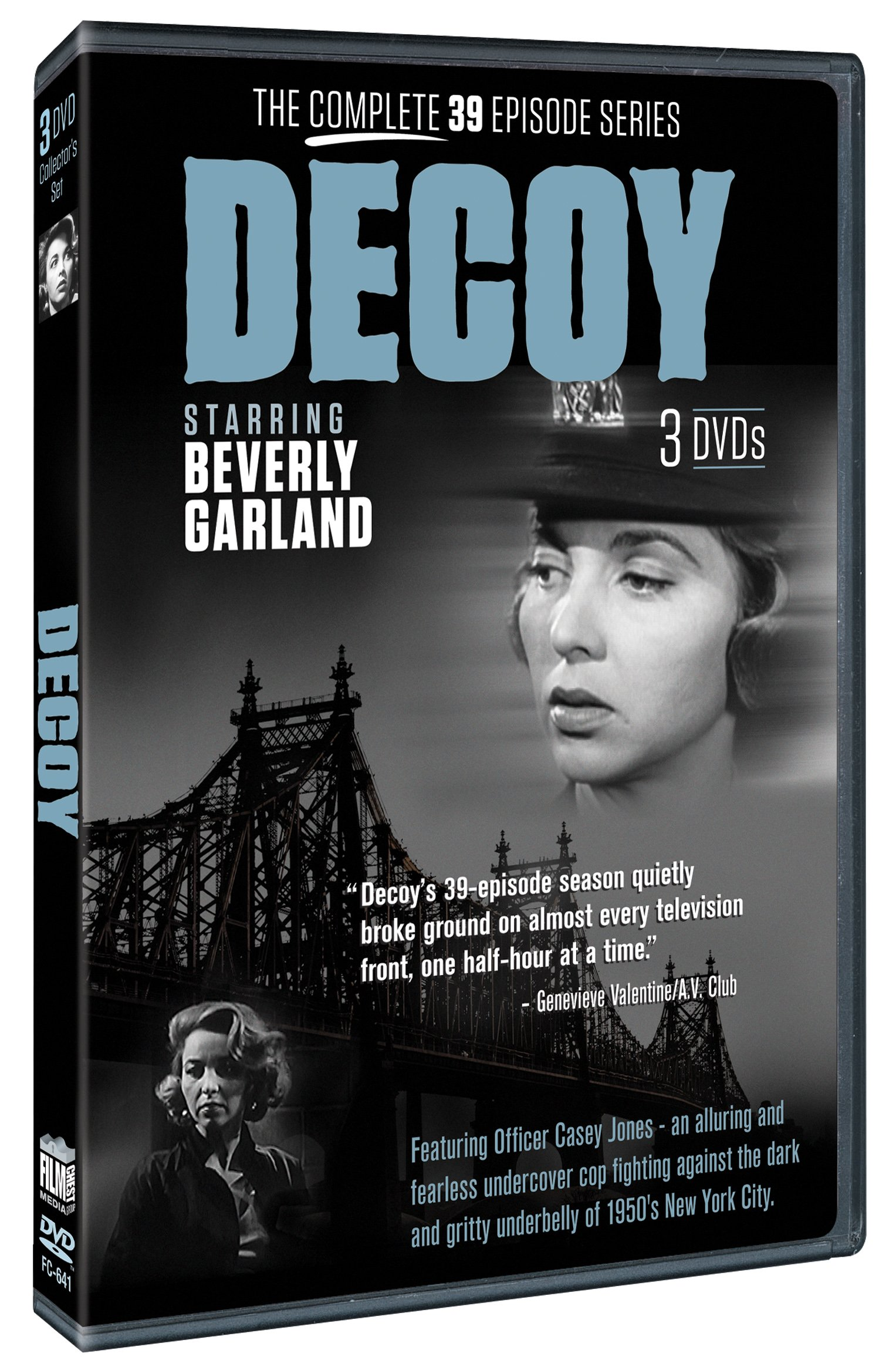 Decoy: The Only Package with ALL 39 Episodes Available!