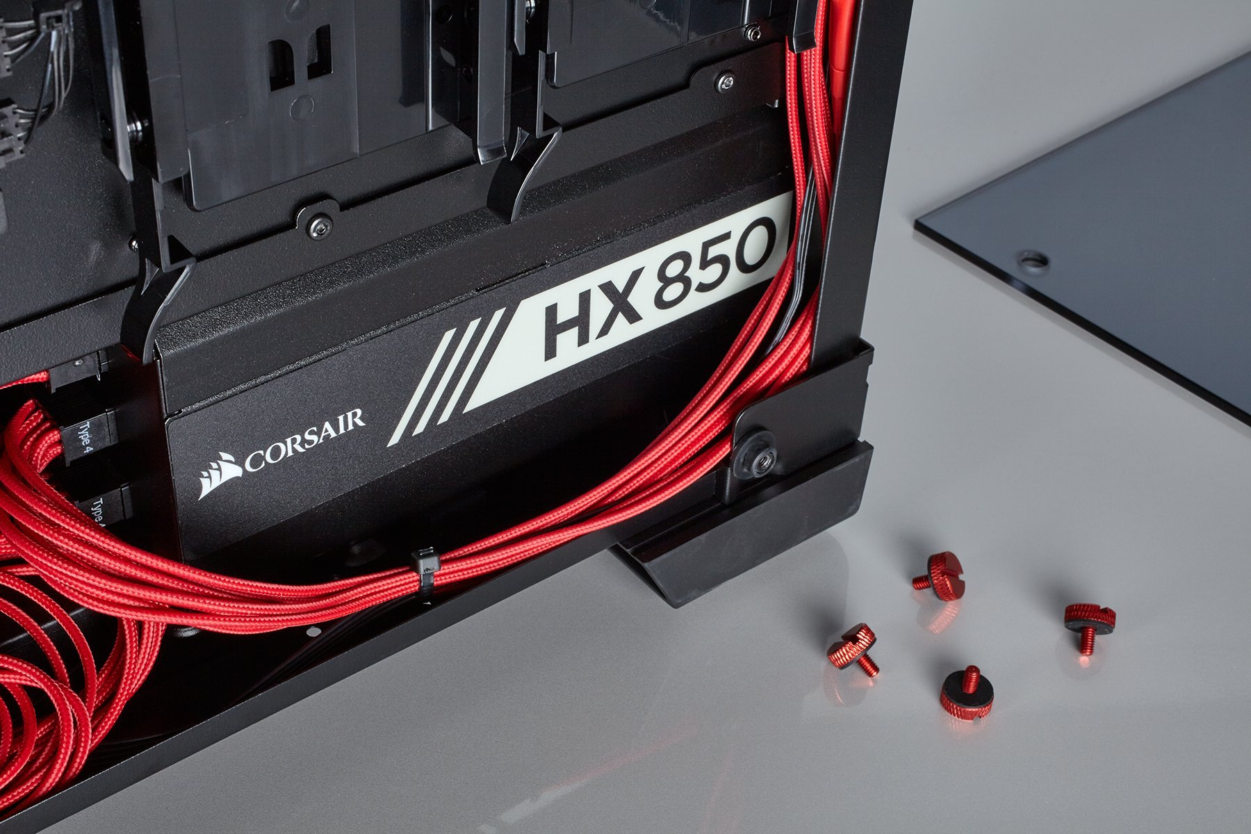 Corsair Crystal Series 570x Aluminum Case Thumbscrews