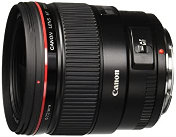 Canon EF 35mm f/1.4L USM Wide Angle Lens for Canon SLR Cameras - Fixed Camera Lenses at amazon