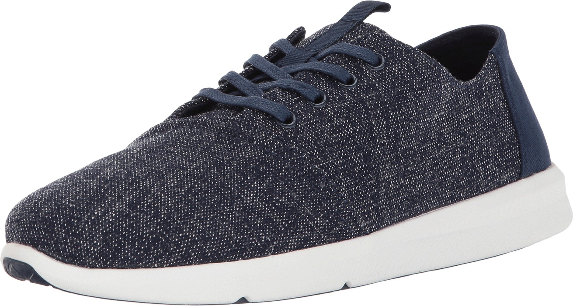 TOMS Men's Del Rey Navy Two-Tone Woven Oxford