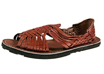 7ab98a7cff891 Genuine Leather Chedron Women Huarache Pachuco. Mexican Sandals (5)