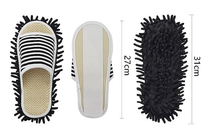 In Per Pantofola Genie Mop La Xunlong Scarpe Ciniglia Microfibra qx0APPFIw
