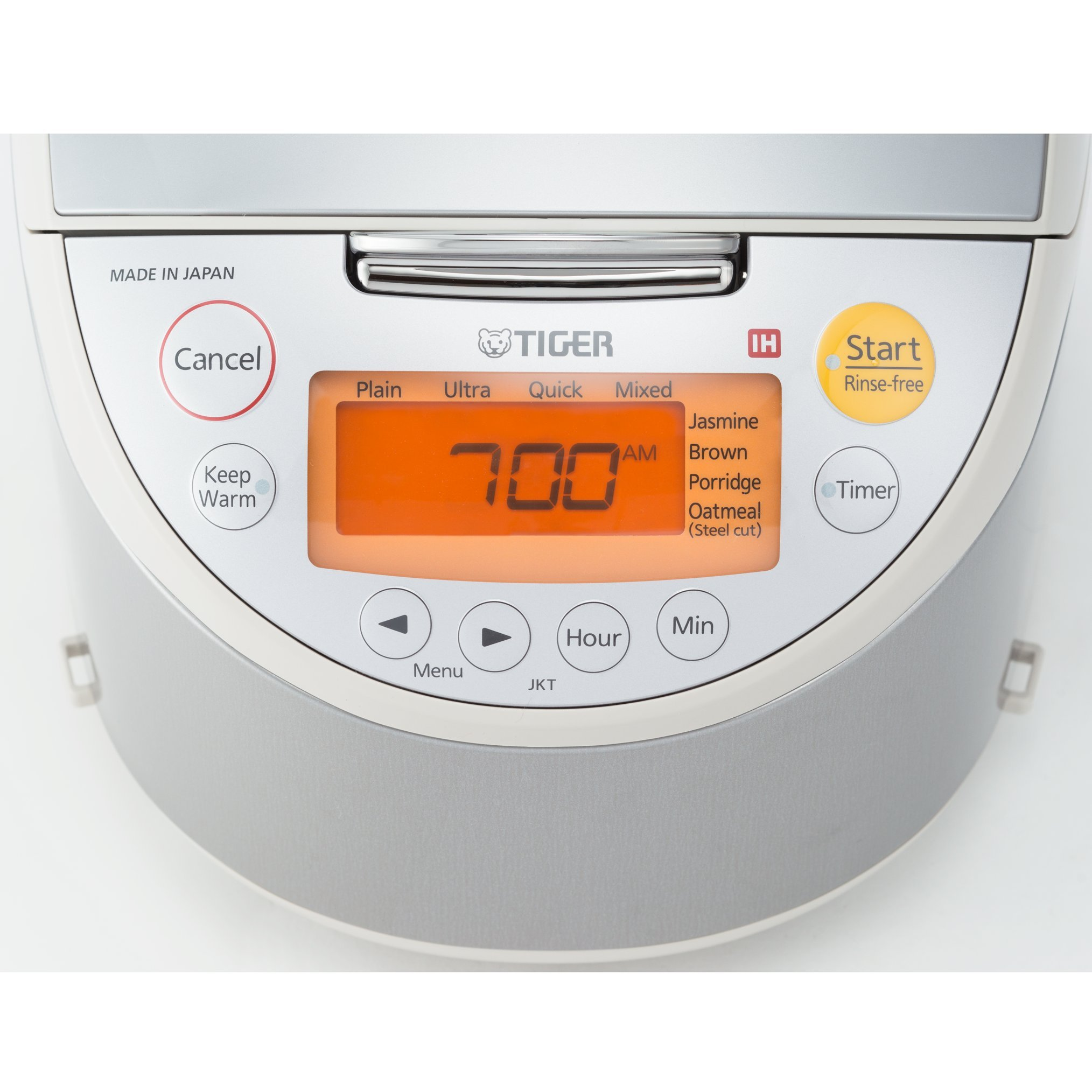 Tiger JKT-B10U-C 5.5-Cup Stainless Steel Rice Cooker, Beige by Tiger Corporation (Image #6)