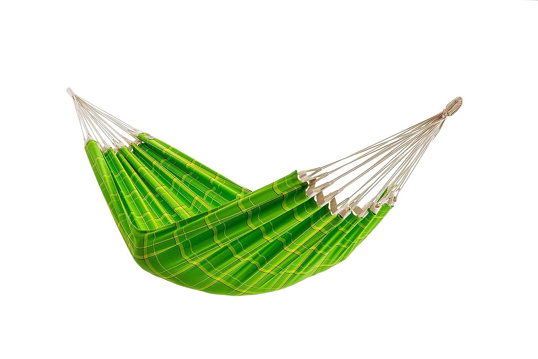 Tuchhängematte, reine Baumwolle, 220 x 150 cm, 160 kg Tragfähigkeit, in 5 Farben, grün