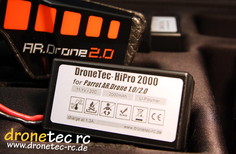Parrot AR DRONE 2.0 / 1.0 * Power Tuning Batería de polímero de ...