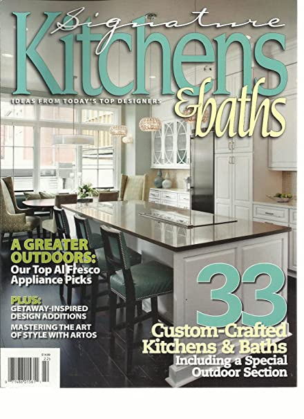 Amazon.com : SIGNATURE KITCHENS & BATHS, SUMMER, 2012 (IDEAS ...