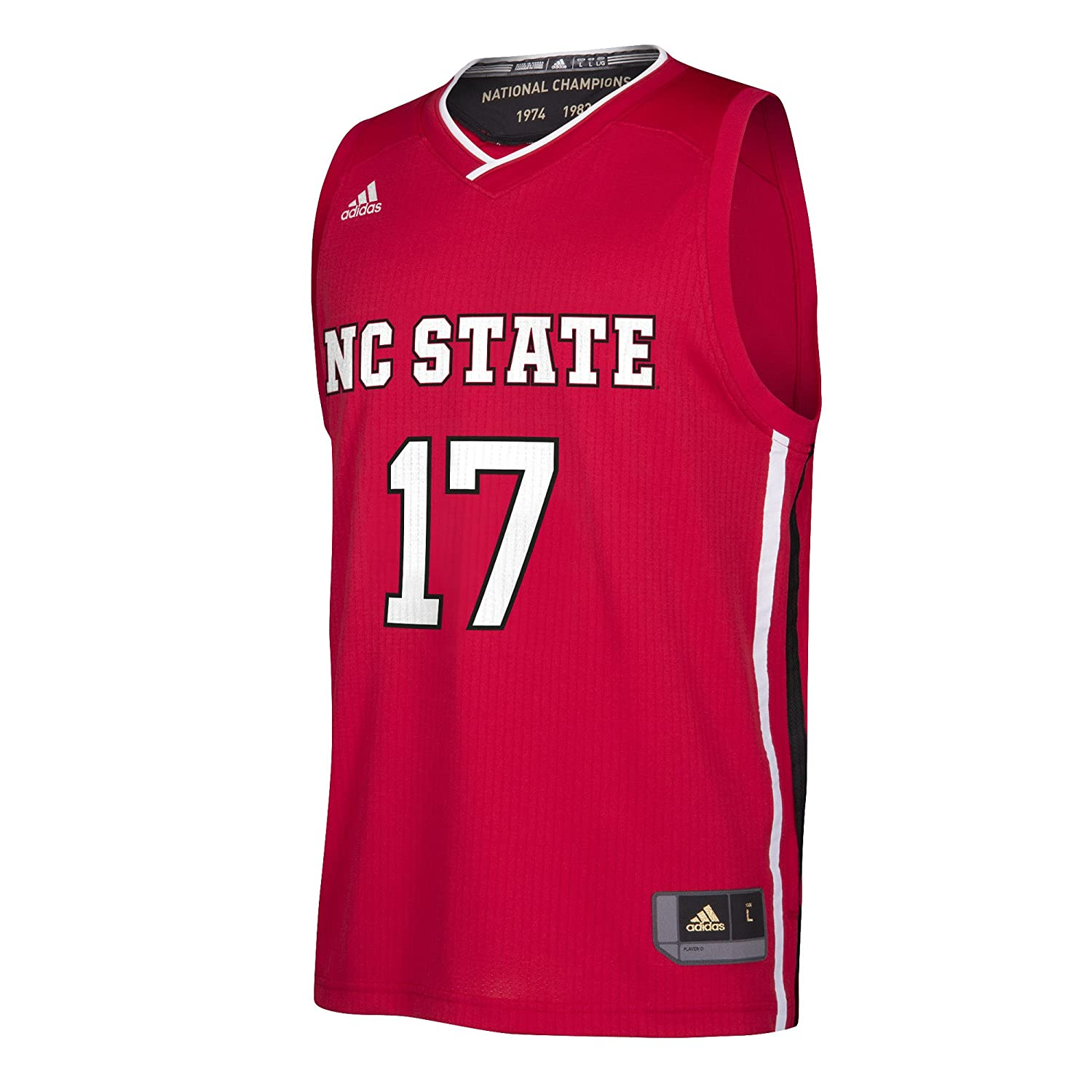 Red Medium NCAA North Carolina State Wolfpack Replica Jersey