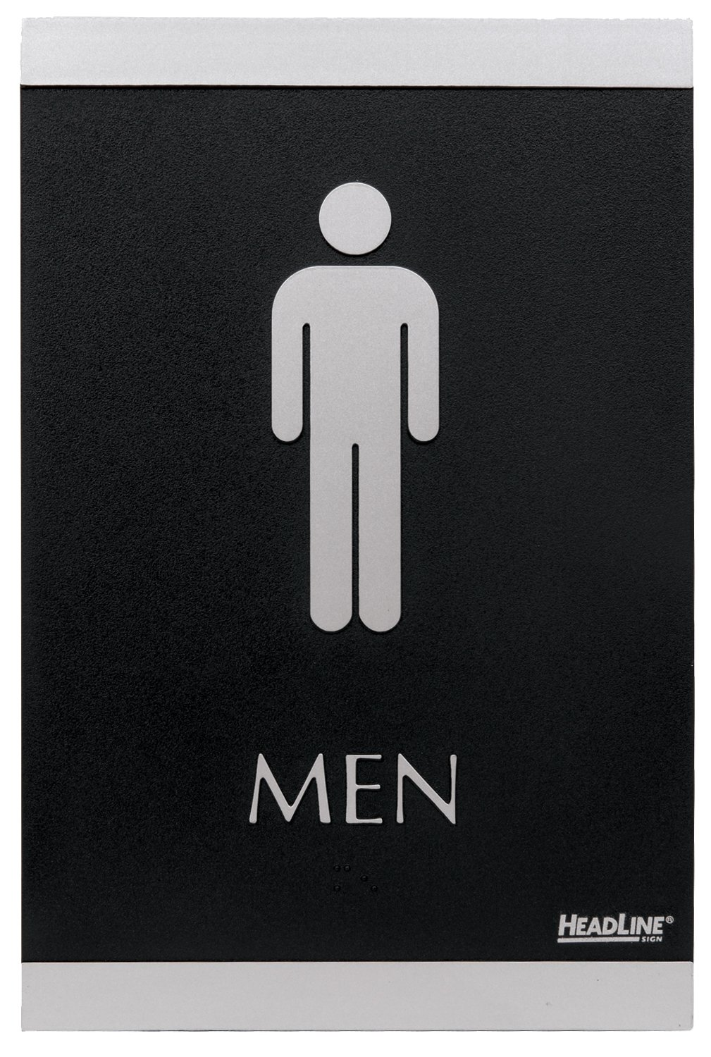 Amazoncom HeadLine Sign Century Series X Inch Men And Women - Cheap bathroom signs