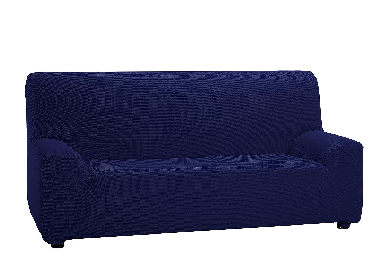 Martina Home Tunez - Funda elástica para sofá, Marino, 3 Plazas (180-240 cm)