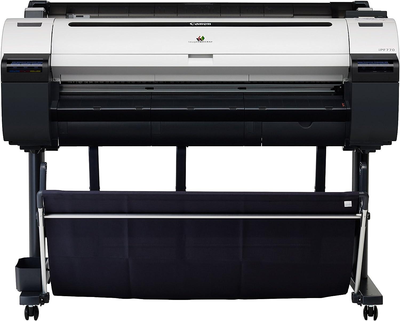 Canon imagePROGRAF iPF780 - Impresora de Gran Formato (2400 x 1200 dpi, Inyección de Tinta, Garo,HP-GL/2,HP-RTL, Negro, Cian, Magenta, Negro Mate, Amarillo, PF-04, 0.07-0.8 mm): Amazon.es: Informática