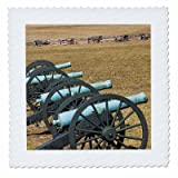 3dRose qs_88096_1 Arkansas, Civil War Cannons, Pea