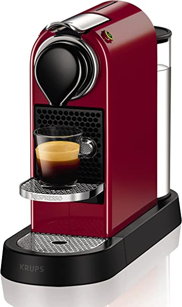 Nespresso Citiz Flow XN7405 Cafetera monodosis de 19 bares, 2 programas de café personalizables, bandeja extraíble y ...