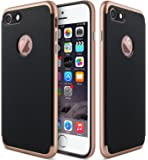 iPhone 7 Case, CLONG [Slim-Fit] Apple iPhone 7 Case Cover TPU/PC Shock-Absorption Bumper and Anti-Scratch Case Cover Shell for Apple iPhone 7 4.7 inch - Rose Gold