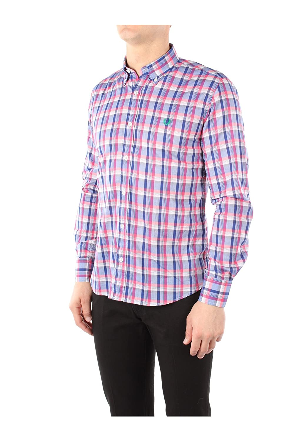 30213555V0031 Fred Perry Shirts Men Cotton Multicolor