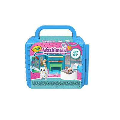 Crayola 74726 Washimals Vet Clinic Playset, Multi: Toys & Games