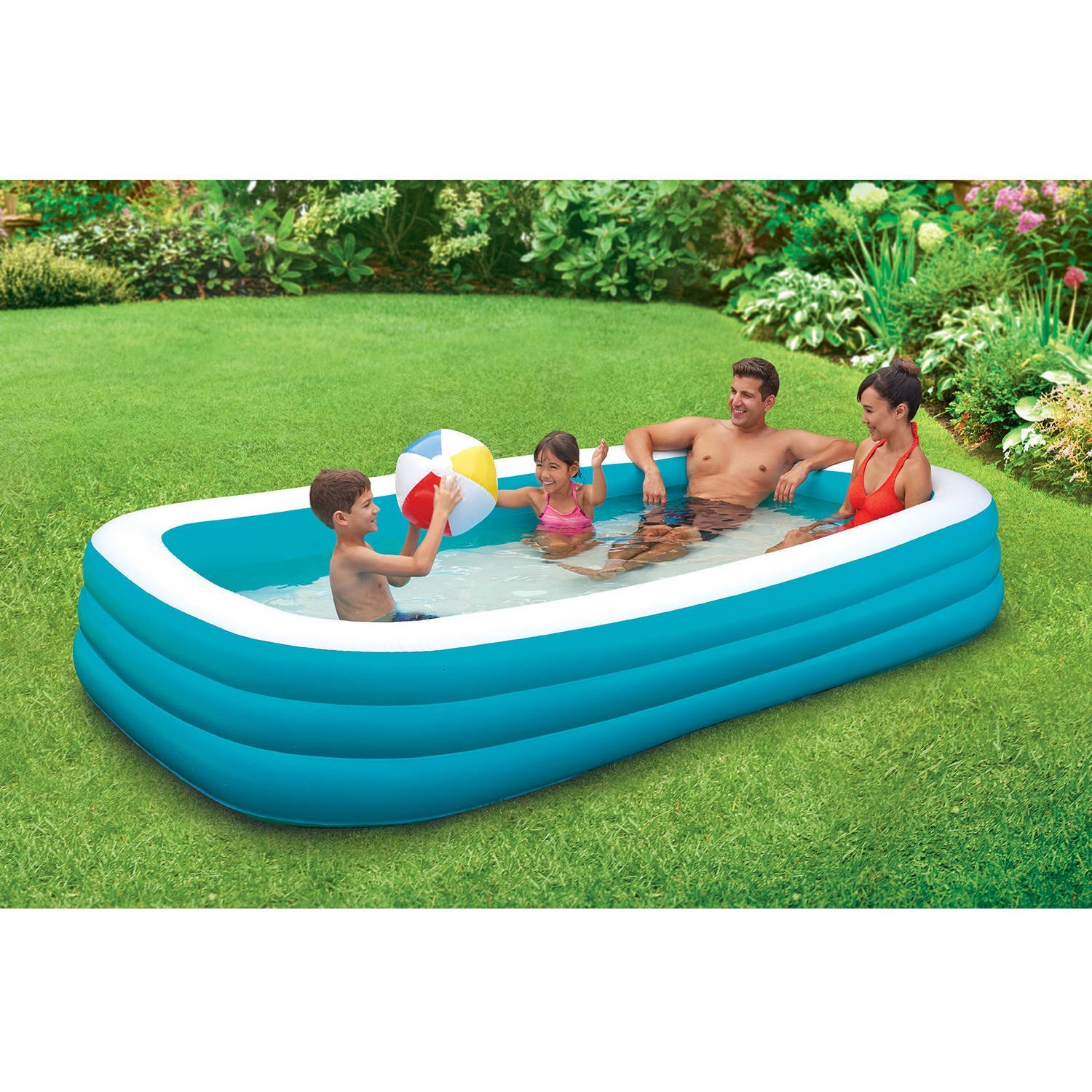 amazoncom play day 120 deluxe family pool garden outdoor