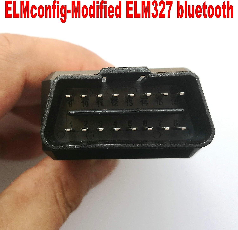 OTKEFDI ELM327 Bluetooth,Forscan Modified ELM 327