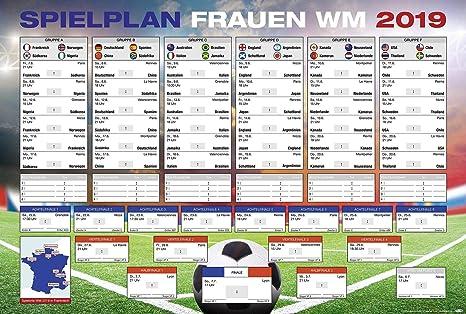 Fussball Wm Frauen Spielplan 2019 In Frankreich Mit Allen