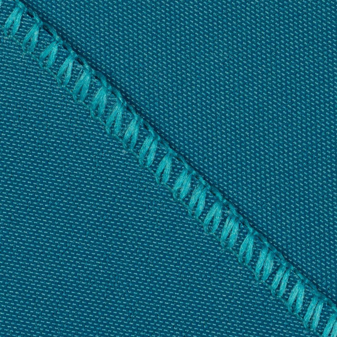Hunter Green 17NPK-010165 LinenTablecloth 17-Inch Polyester Napkins 1-Dozen