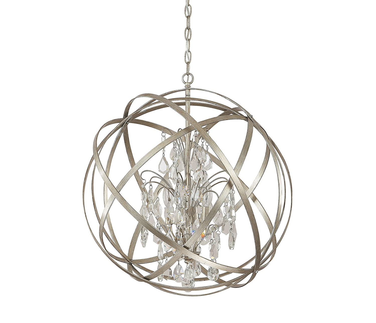 Capital lighting 4234rs cr axis 4 light pendant russet finish capital lighting 4234rs cr axis 4 light pendant russet finish with clear crystal accents ceiling pendant fixtures amazon aloadofball Image collections