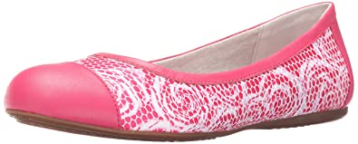 2ab01e9b20 Softwalk Women's Napa Ballet Flat, Pink Rose, ...