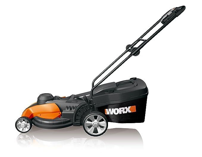 Amazon.com: Worx wg708 17-inch Cortacésped eléctrica, 13-AMP ...