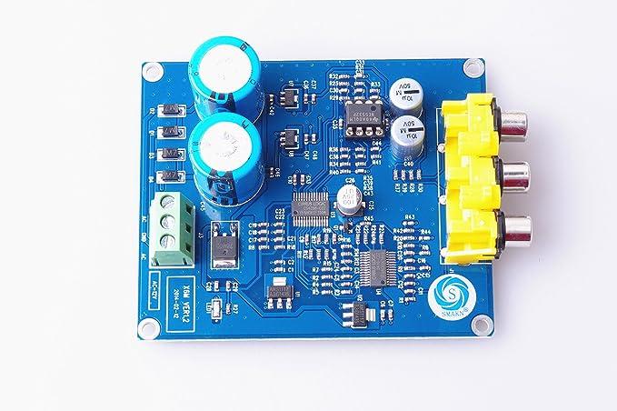 Amazon.com: SMAKN® 1PC CS8416+CS4398 24BIT/192K Coaxial DAC Decoder Board Assembled: Home Audio & Theater