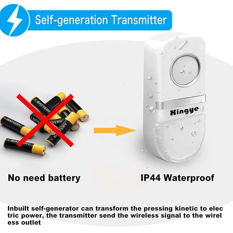 Garbage Disposal Wireless Switch Kit No Battery Wiring Self A Powered Waterproof