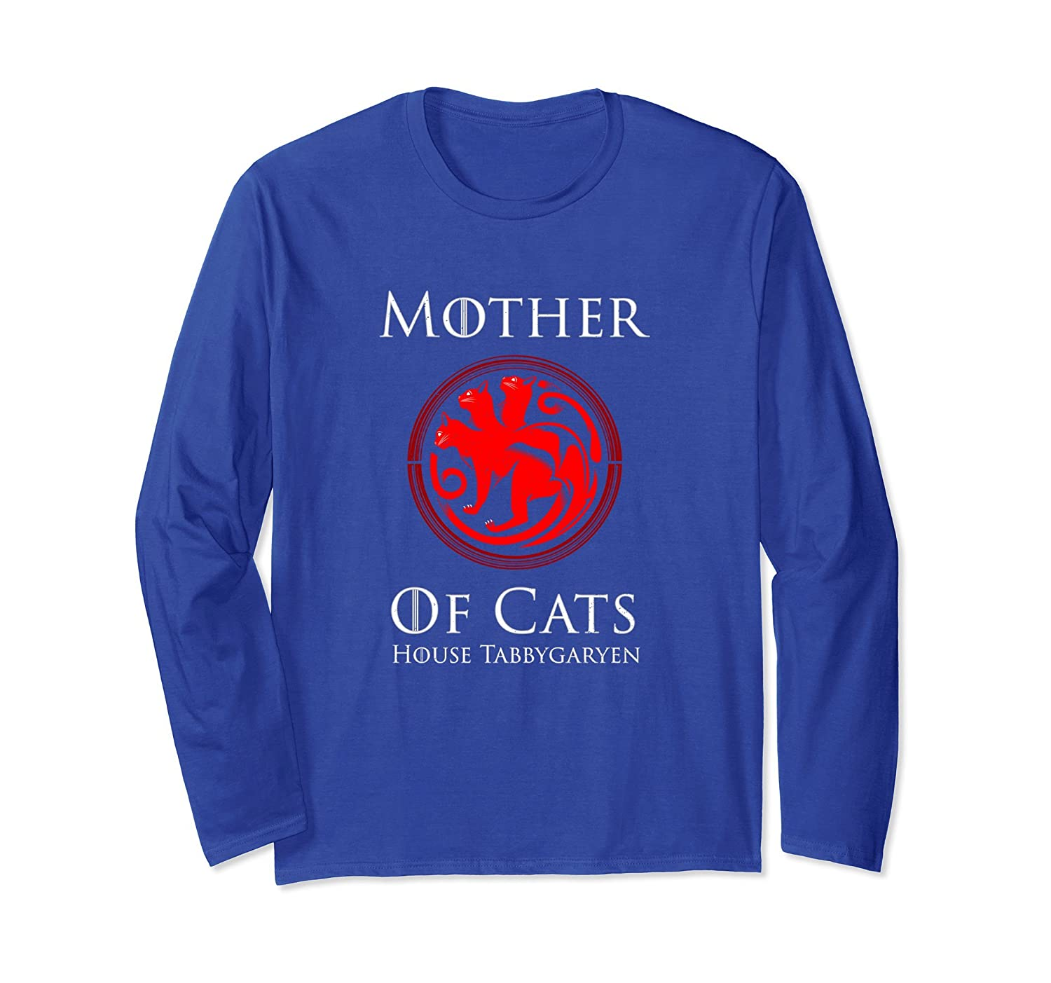 Mother Of Cats House Tabbygaryen Long Sleeve Shirt-fa