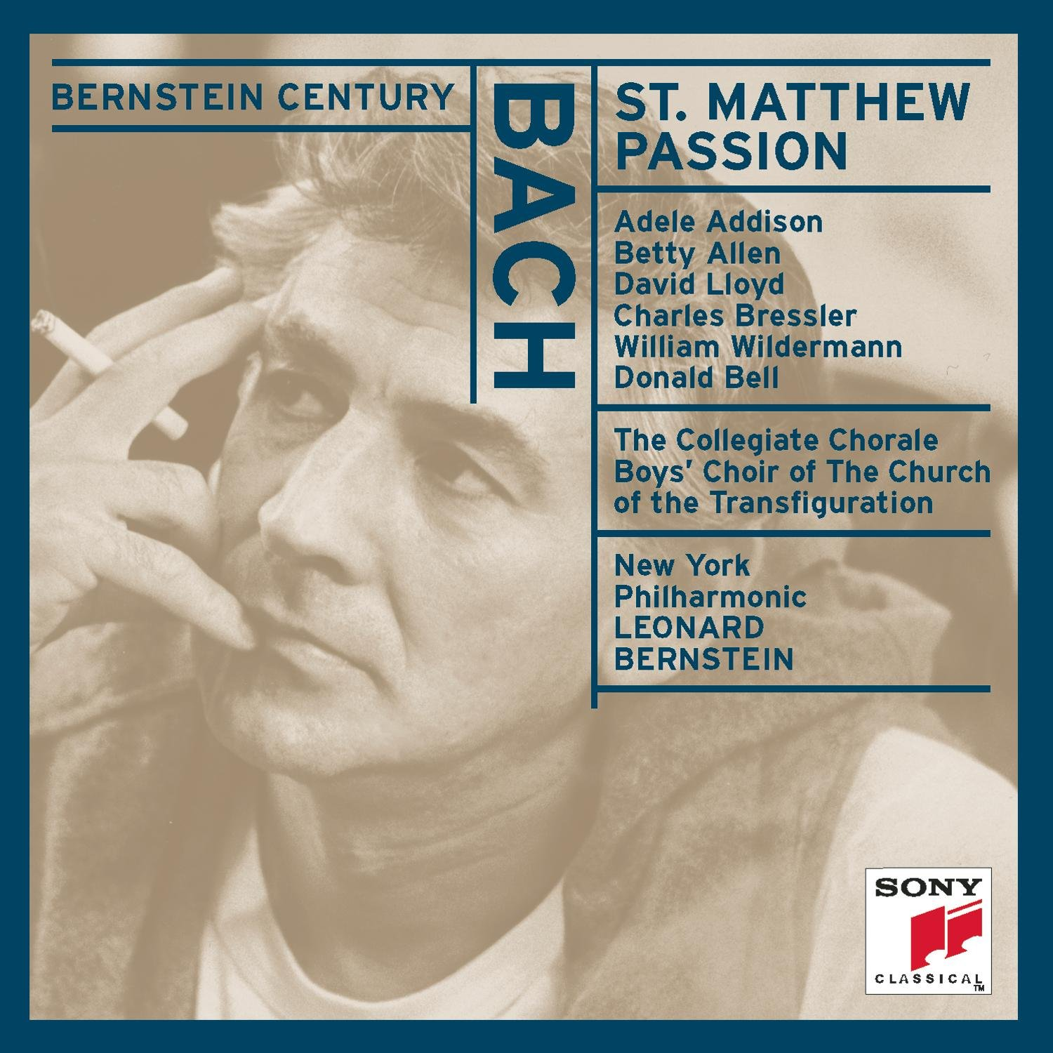 St Matthew Passion by Sony Classical
