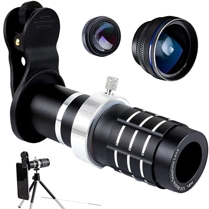 Review Cell Phone Lens 12X