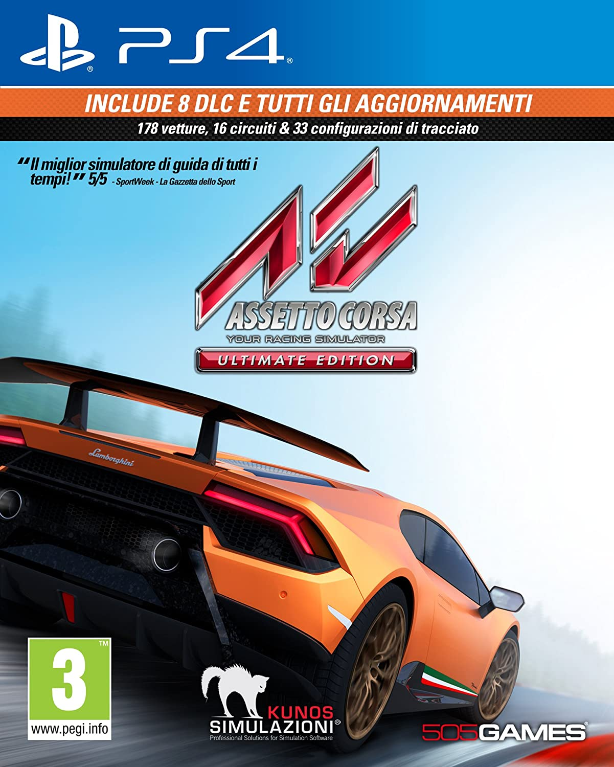 Assetto Corsa - Ultimate - PlayStation 4 [Importación italiana ...