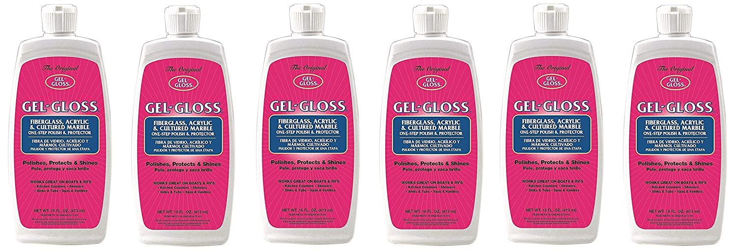 Amazon.com: Gel-Gloss RV GG-16 Polish and Protector 16 oz. (16 oz.(pack of 6)): Automotive