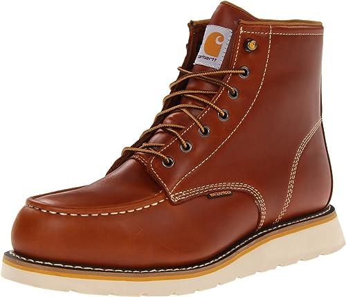 Carhartt , Chaussures de sécurité pour Homme Marron Peau