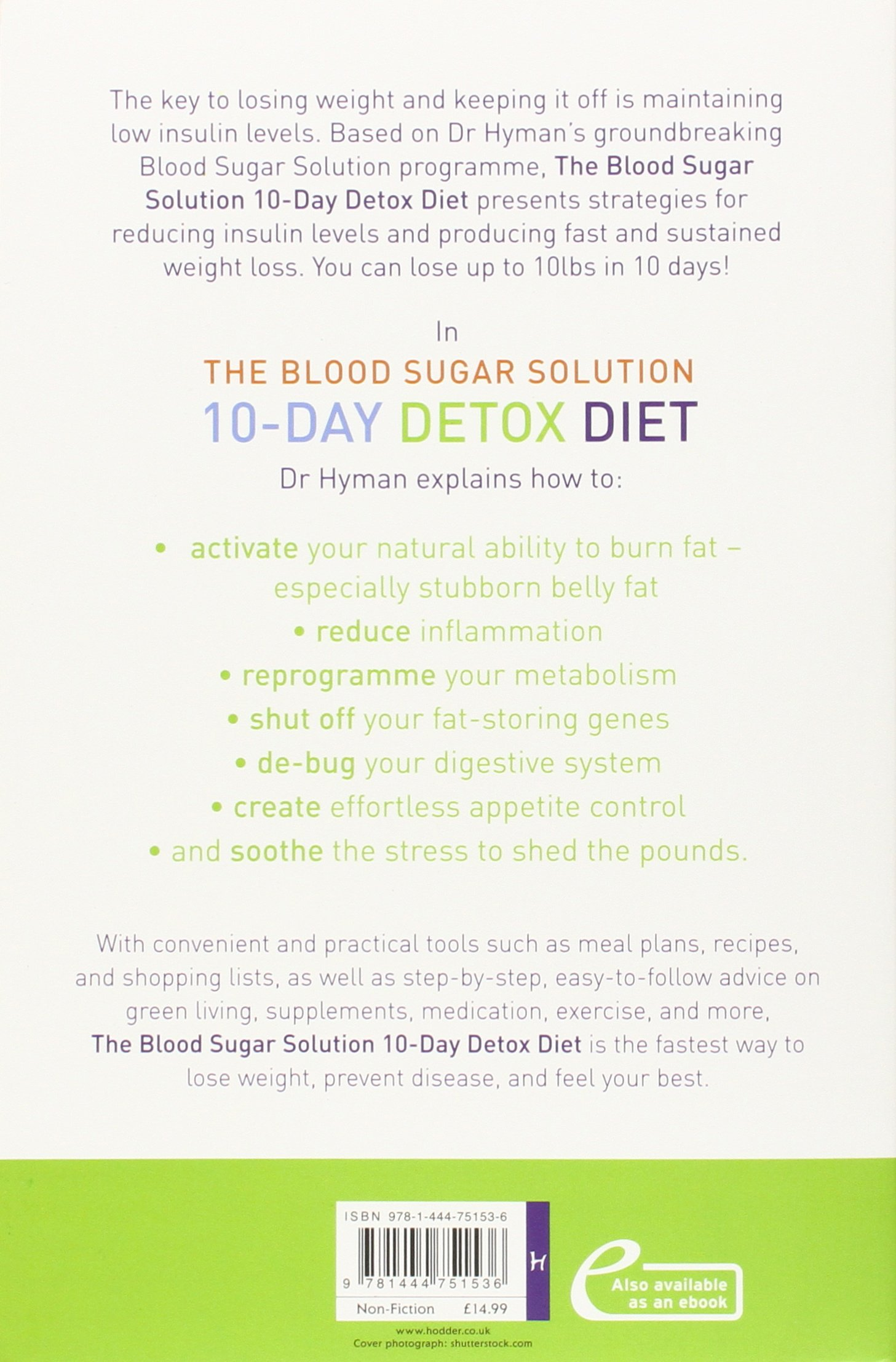 meal plans for 10-day detox diet
