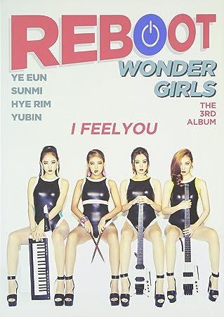 amazon 3集 reboot 韓国盤 wonder girls アジアンポップ 音楽