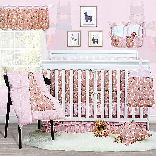 Crib Skirt,Quilt Modern Luxury 4piece crib bedding set;Fitted Sheet CribBumper