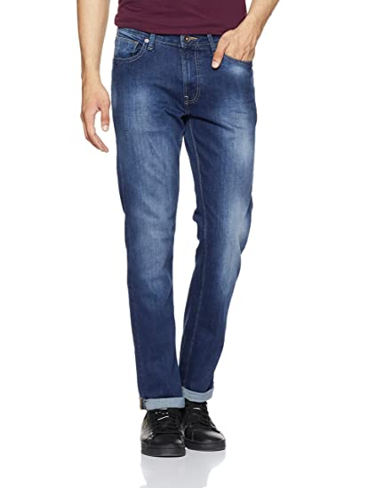 United Colors of Benetton Men s Slim Fit Jeans  Amazon.in  Clothing ... 8af7efcf40b1