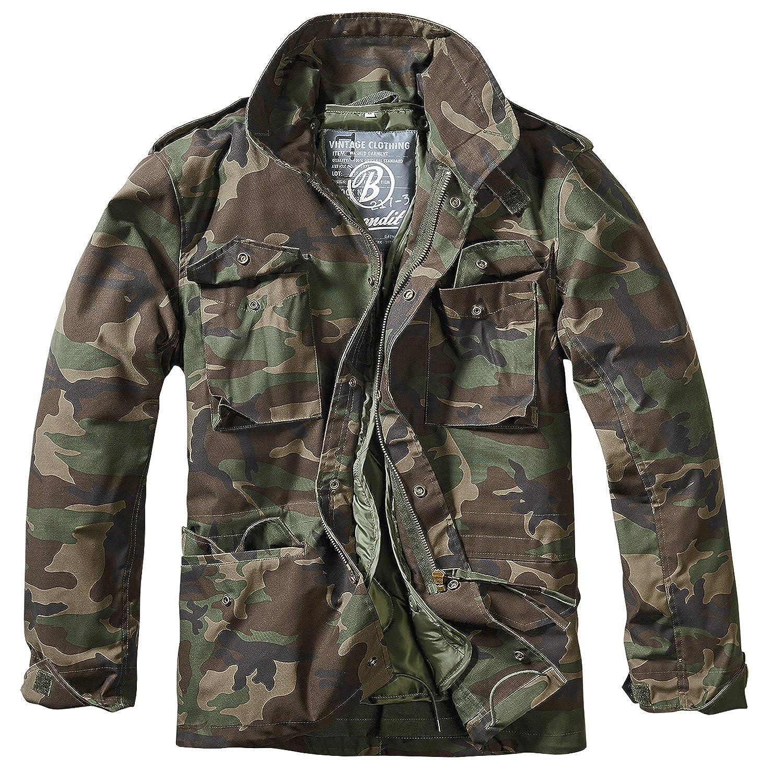 Brandit Men's M 65 Classic Jacket Woodland at Amazon Men's