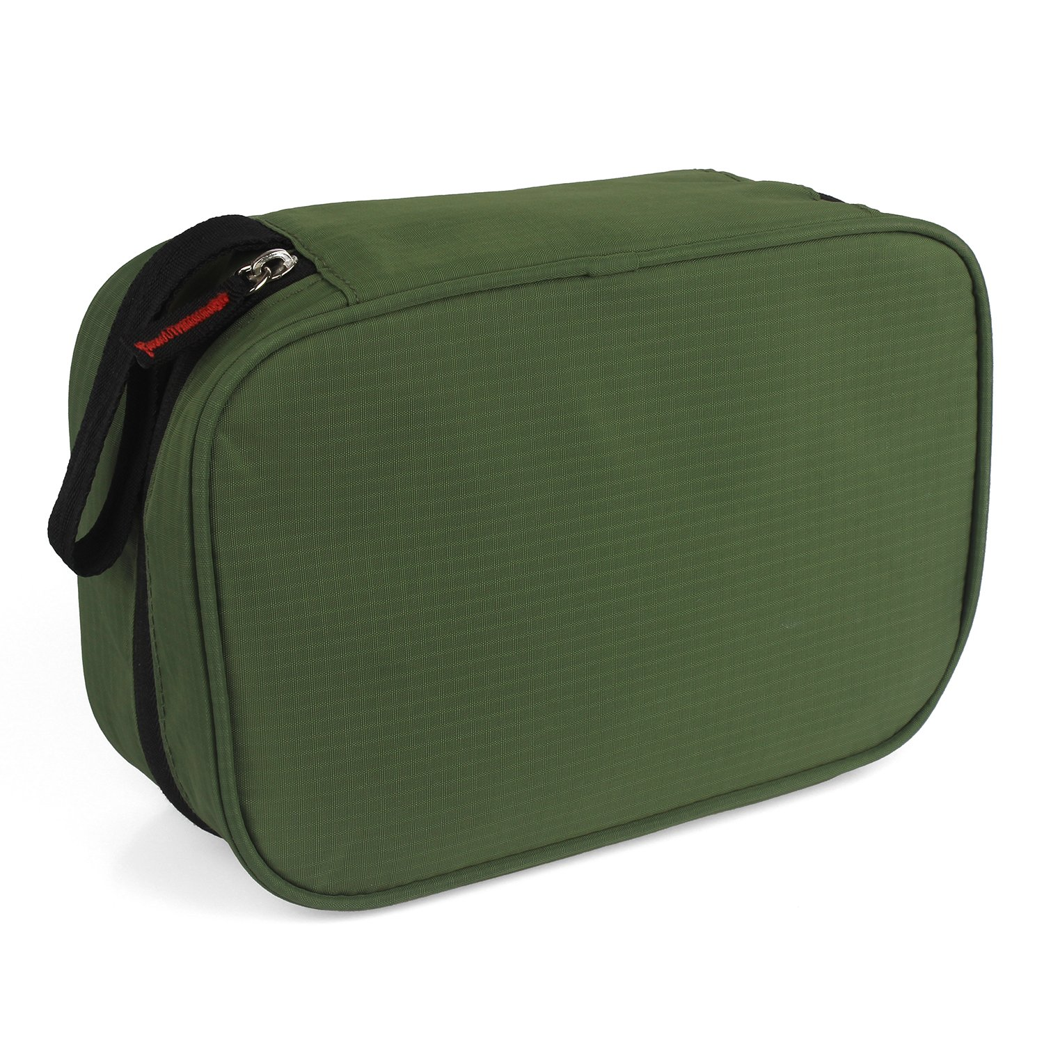 Dopobo Travelling Toiletry Bag Portable Hanging Water-Resistant Wash Bag for Travelling, Business Trip, Camping (army green) by Dopobo (Image #4)