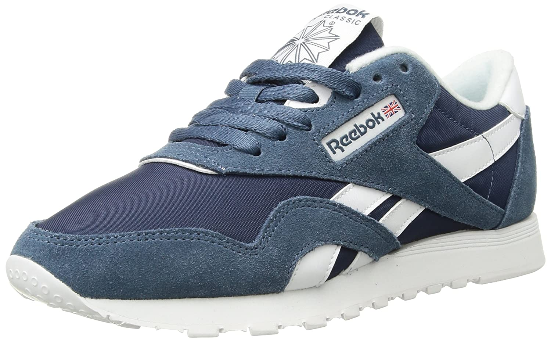 Reebok Classic Sneaker B01GRMHT5I 5 D(M) US|Brave Blue/White