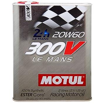 95dc285427c2c4 Amazon.com  Motul 300V LE MANS 20W60 Racing Engine Oil 2L  Automotive