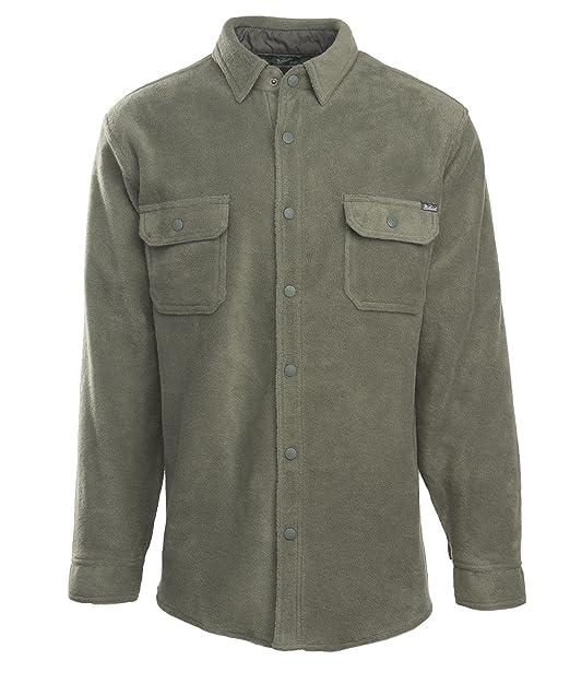 Woolrich Camisa de Andes Forro Polar para Hombre Chaqueta ...