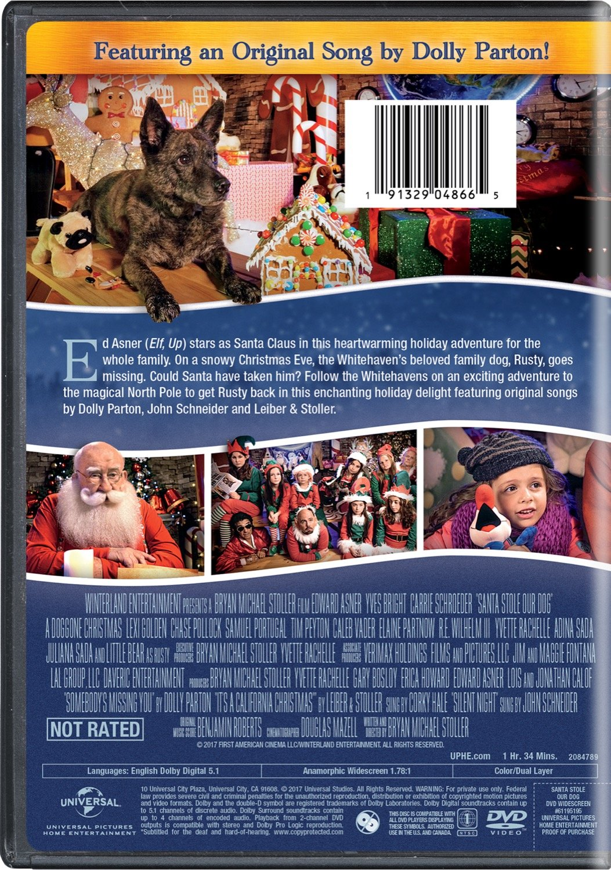 Amazon.com: Santa Stole Our Dog!: Edward Asner, Yves Bright, Carrie ...